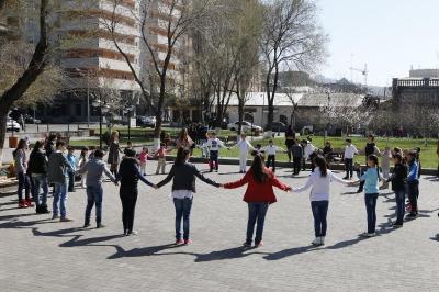 Глобальная детская медитация Солнечный круг